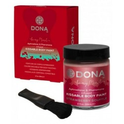 DONA Kissable Body Paint Strawberry Souffle
