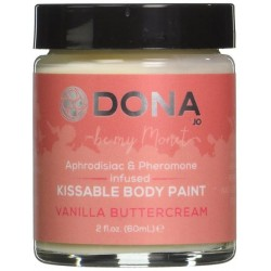 DONA Kissable Body Paint Vanilla Buttercream