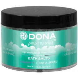 DONA Bath Salts NAUGHTY Sinful Spring 215g