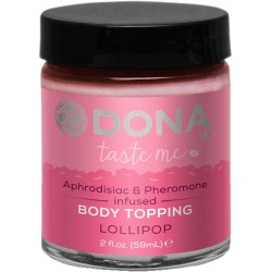 DONA Kissable Body Topping Lollipop 59ml
