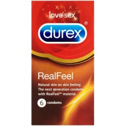 Durex Real Feel 6 Pack Condoms
