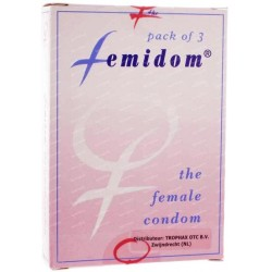 Femidom The Female Condom 3 pack